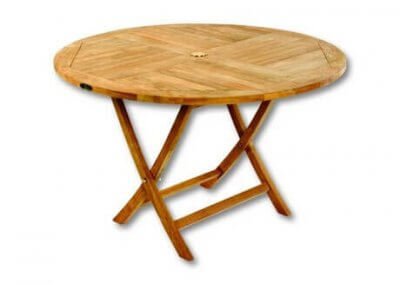Lincoln Round Folding Table