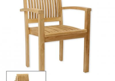 Bromley Stacking Chair